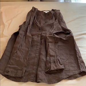 Brown Gap Button Down Cardigan